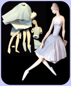lladro ballet dancer