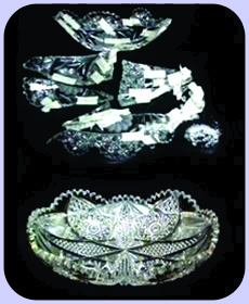 American Cut Crystal Bowl