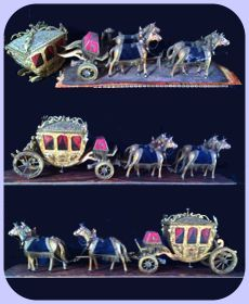 wooden stagecoach